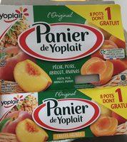 Yaourt sucré, aux fruits, aromatisé - Produto - fr