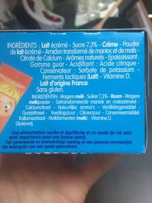 Petits filou - Ingrediënten