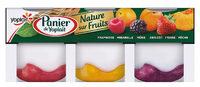 Panier de Yoplait Nature sur Fruits : Framboise, Mirabelle, Mûre, Abricot, Fraise, Pêche - Продукт
