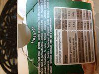Yaourt ferme à l'ancienne sur lit de crème de marrons - Ingredients