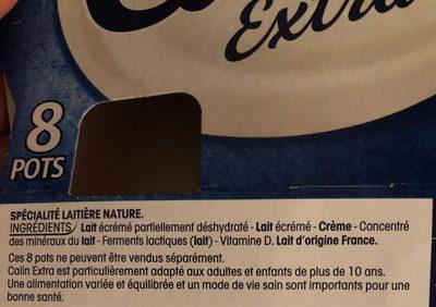 Fromage blanc - Ingrédients - fr