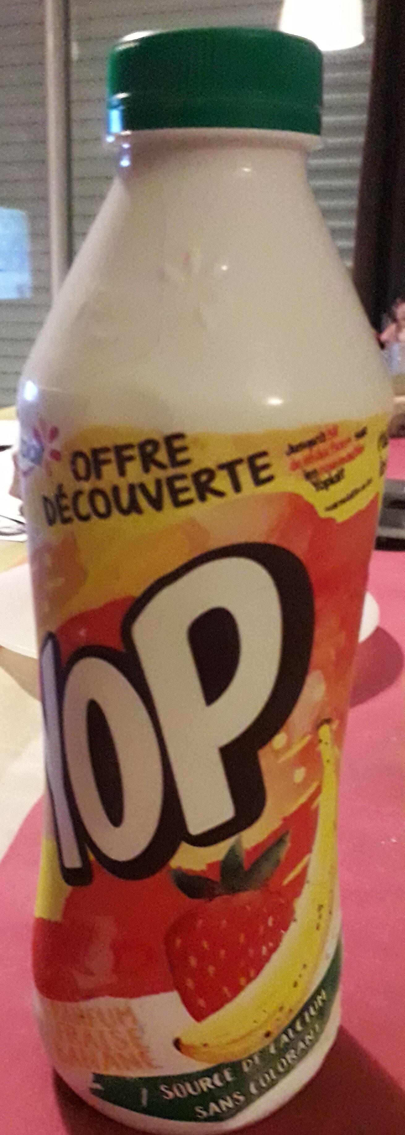 Yop Fraise Banane - Product - fr