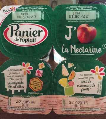 Panier de Yoplait Nectarine - Product
