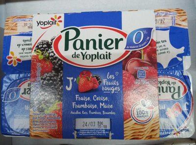 Yogourt fruits rouges 0% - Produit - fr