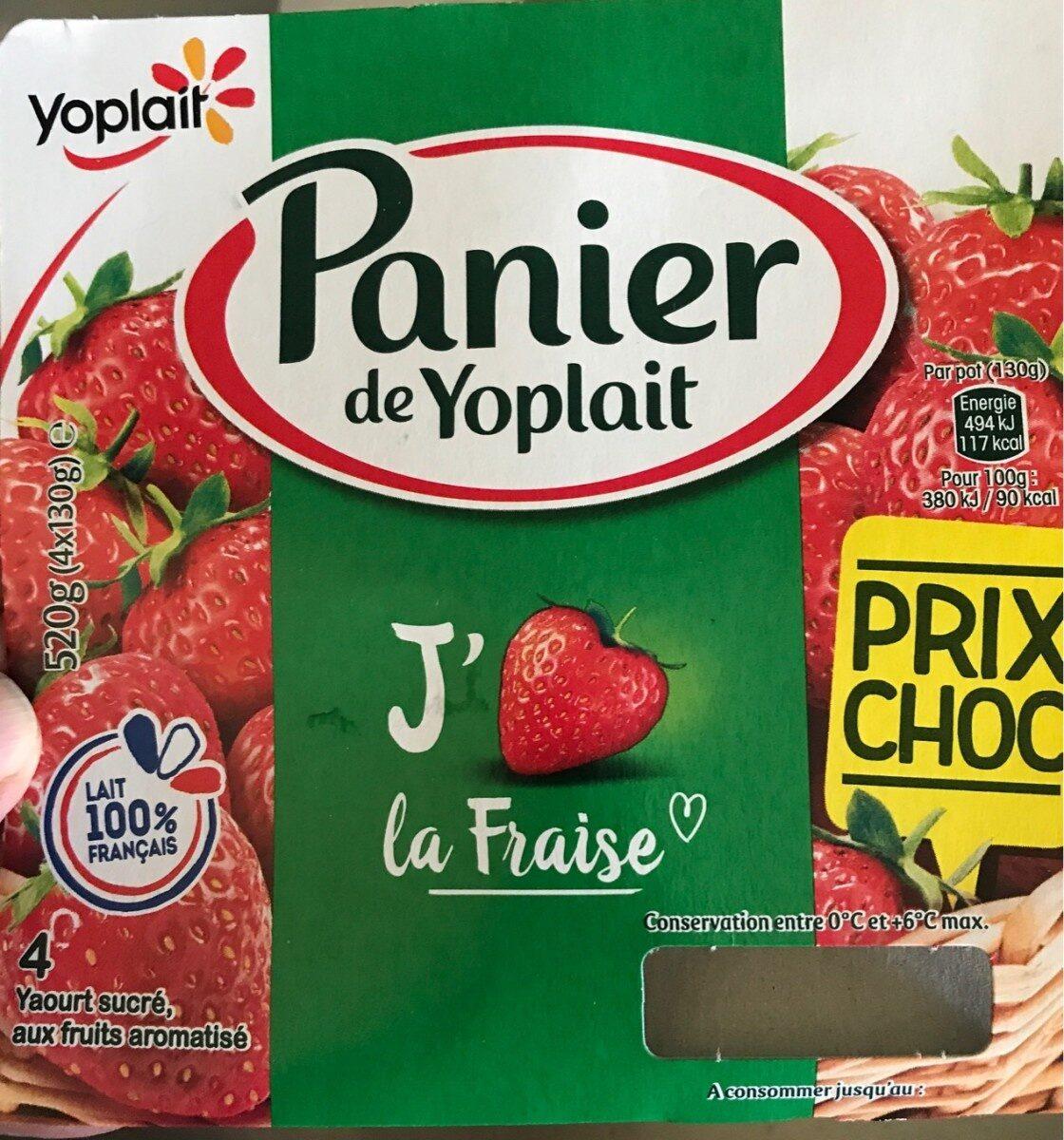 Yaourt fraise et framboise - Produit
