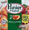 Yaourt abricot et nectarine - Produit