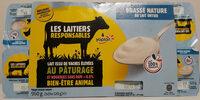 Brassé nature au lait entier - Product
