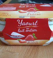 yaourt  au lait entier - Informations nutritionnelles - fr