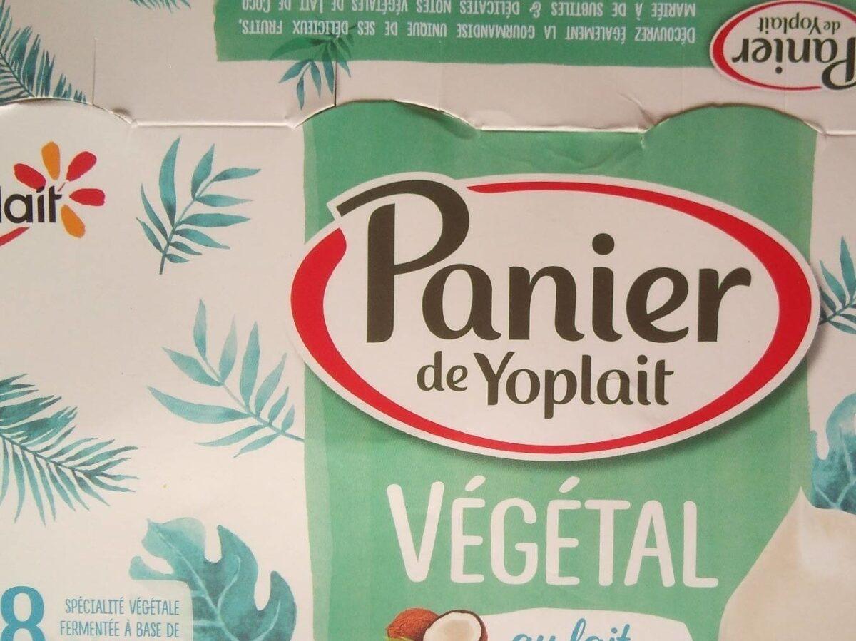 Panier de Yoplait végétal.. - Product