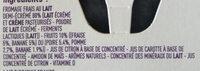 Petit filous sans sucres ajoutés - Ingrédients - fr