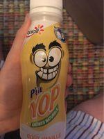 P'tit Yop arômes naturels goût vanille - Nutrition facts - fr