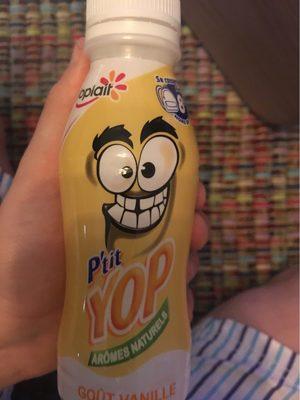 P'tit Yop arômes naturels goût vanille - Voedingswaarden