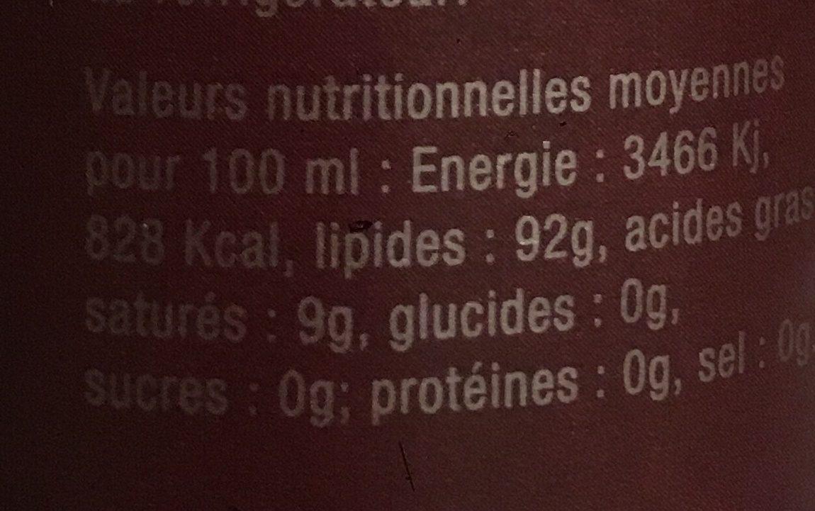 Huile vierge de noix, cerneaux français - Ingrediënten - fr