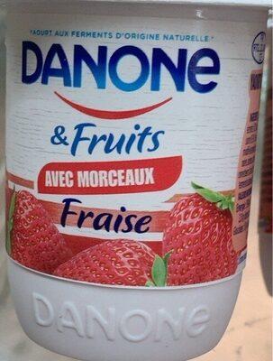 Danone & fruits - Produit - fr