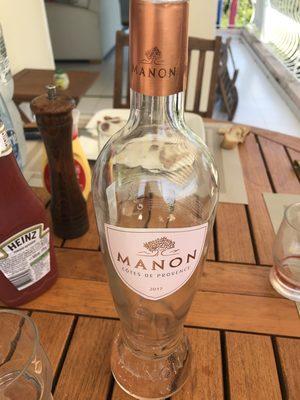 75CL Cotes De Provence Rose Manon 2008 - Product - fr