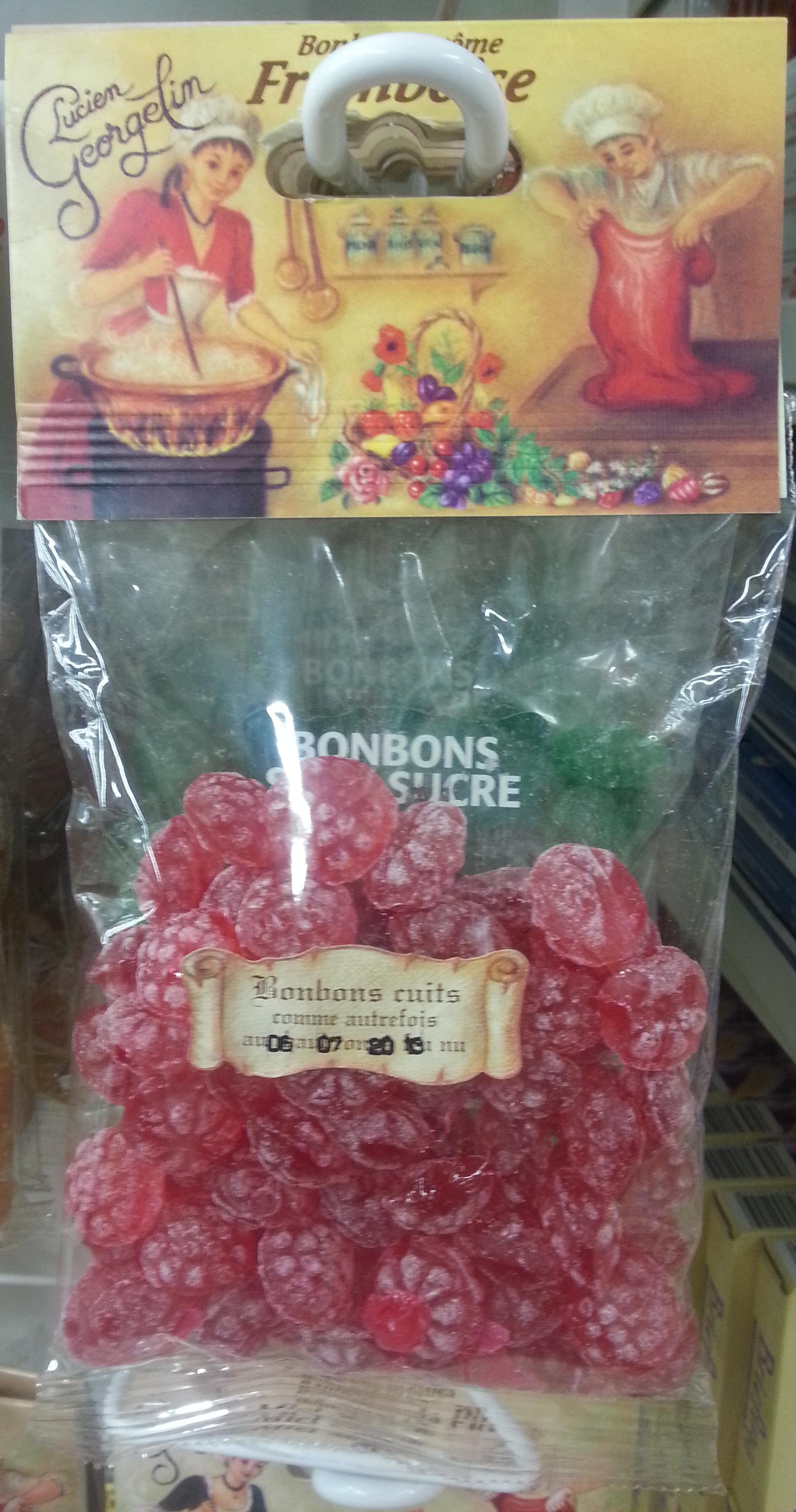 Bonbons arôme framboise - Produit