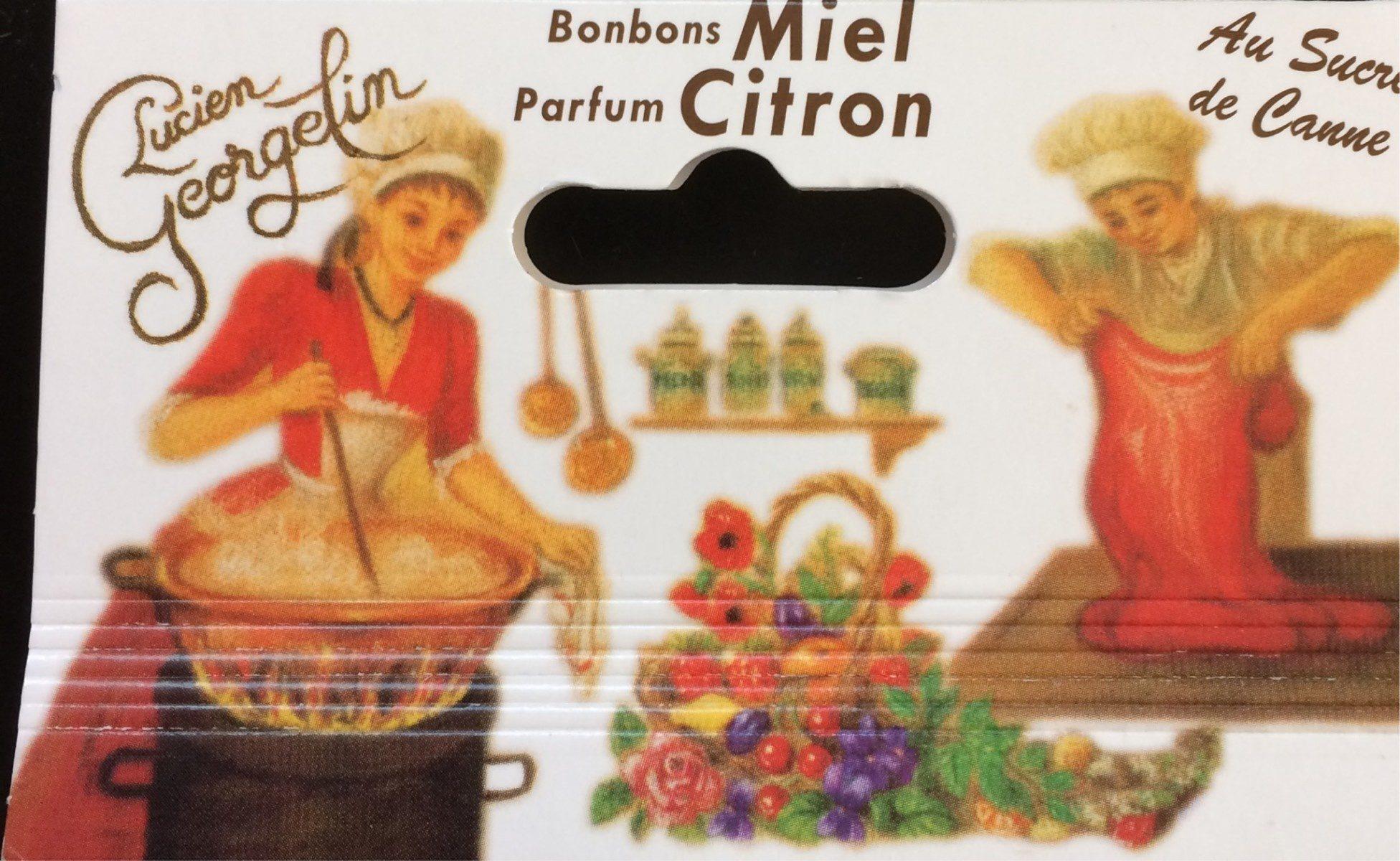 Bonbons Miel parfum Citron - Product