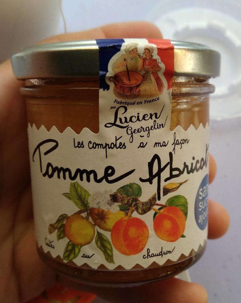 Compote pommes abricots - Produit - fr