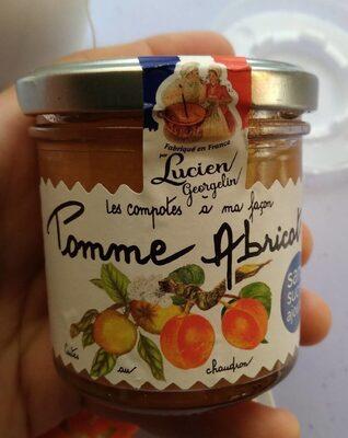 Compote pommes abricots - Produit