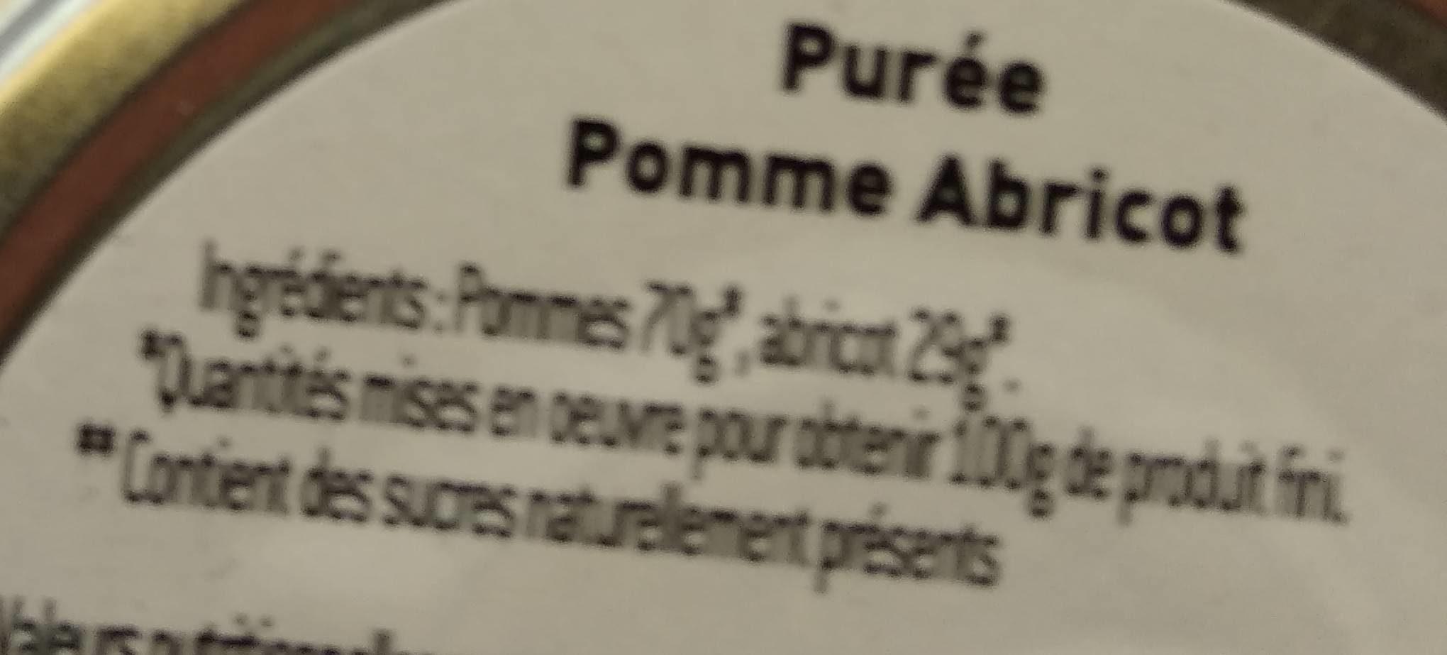 Compote pommes abricots - Ingrédients - fr