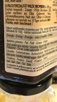 Myrtilles sauvages Cuit au chaudron - Nutrition facts - fr