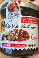 Pate a tartiner noisette cacao - Prodotto - fr