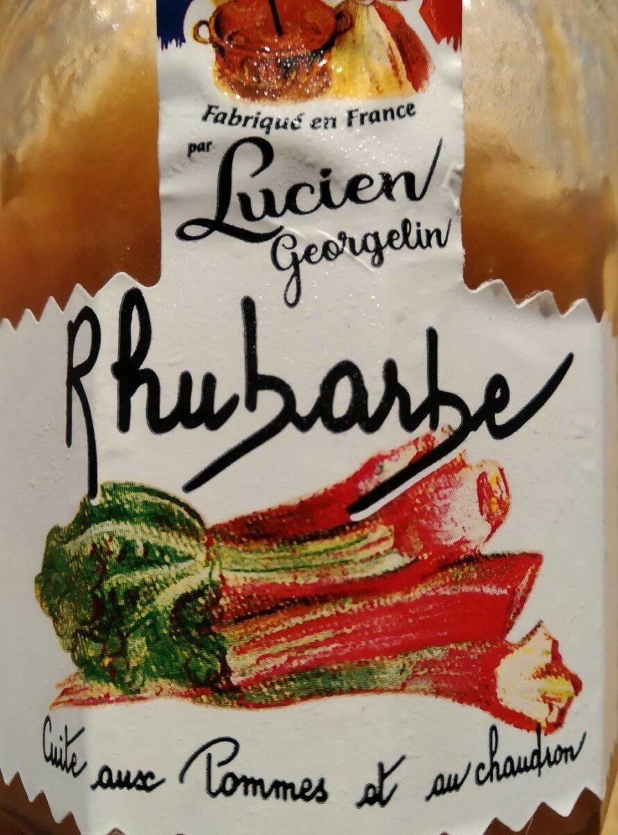 Confiture de rhubarbe - Produit