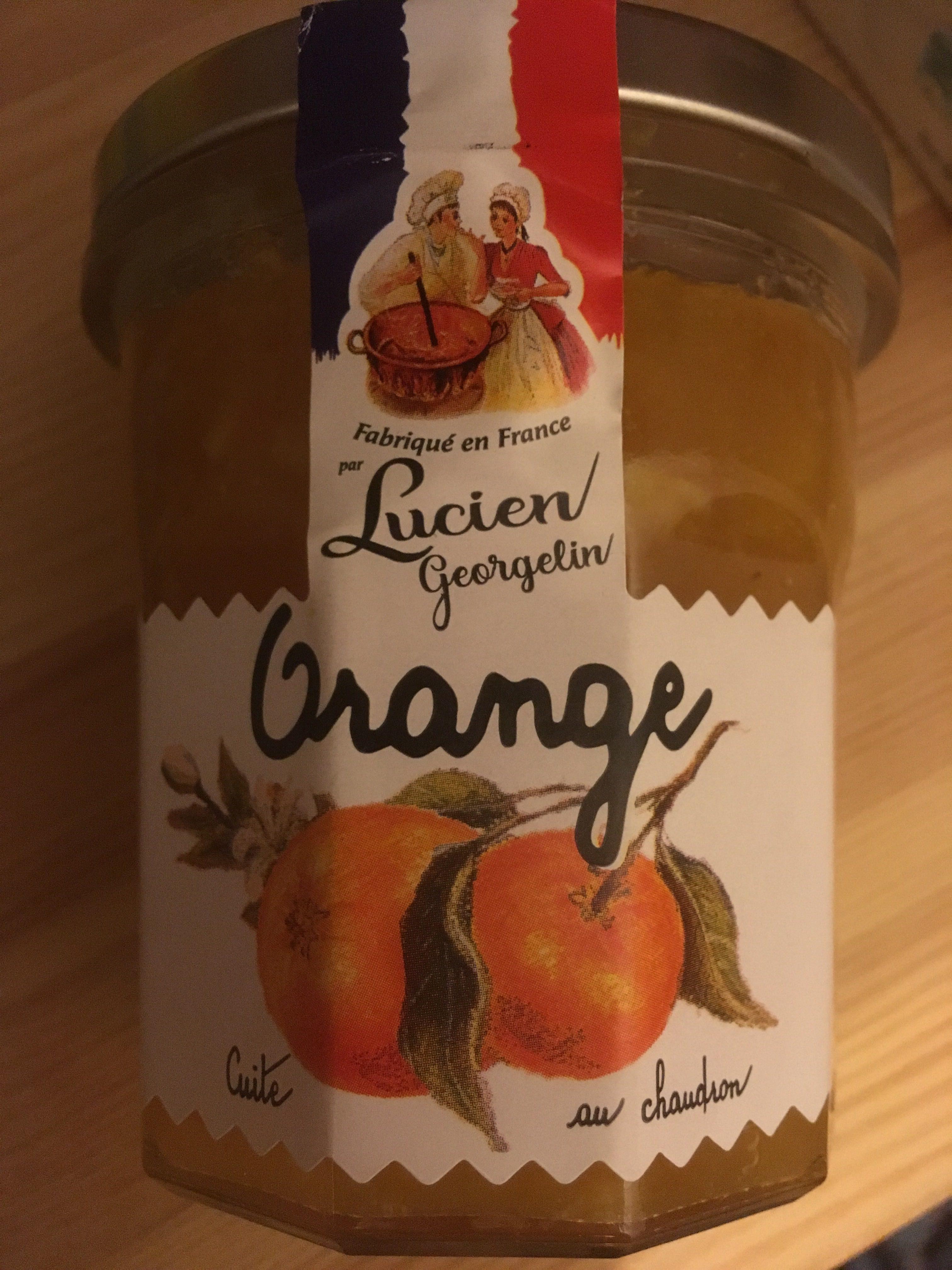 Confiture d'Orange - Product