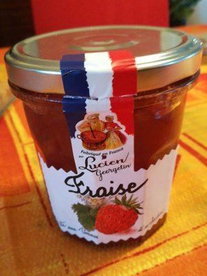 Confiture de fraises - Ingredientes