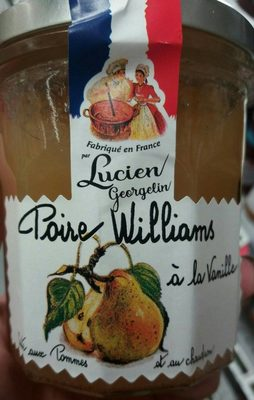 Confiture poire Williams à la vanille - Product