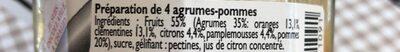 lucien georlin 4 agrumes - Ingrediënten