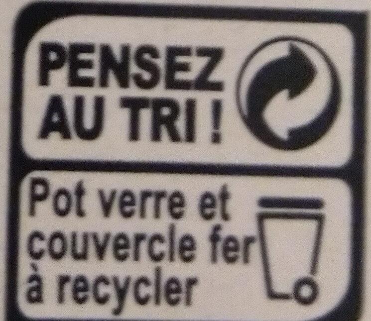 Banane Cuite aux Pommes et au Chaudron - Instruction de recyclage et/ou informations d'emballage - fr