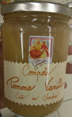 Compote Pomme Vanille - Product