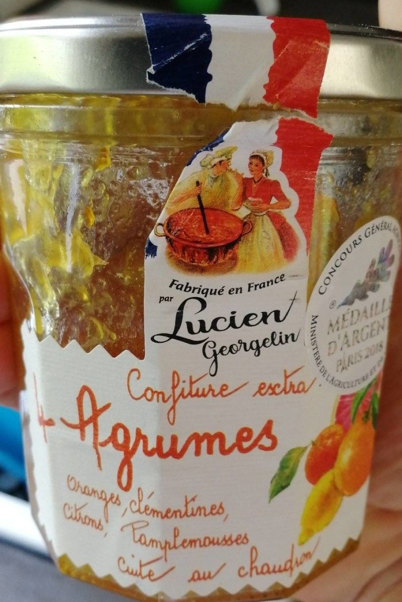 Confiture extra 4 agrumes - Product - fr