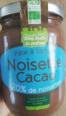 Pate à tartiner noisette cacao - Product - fr