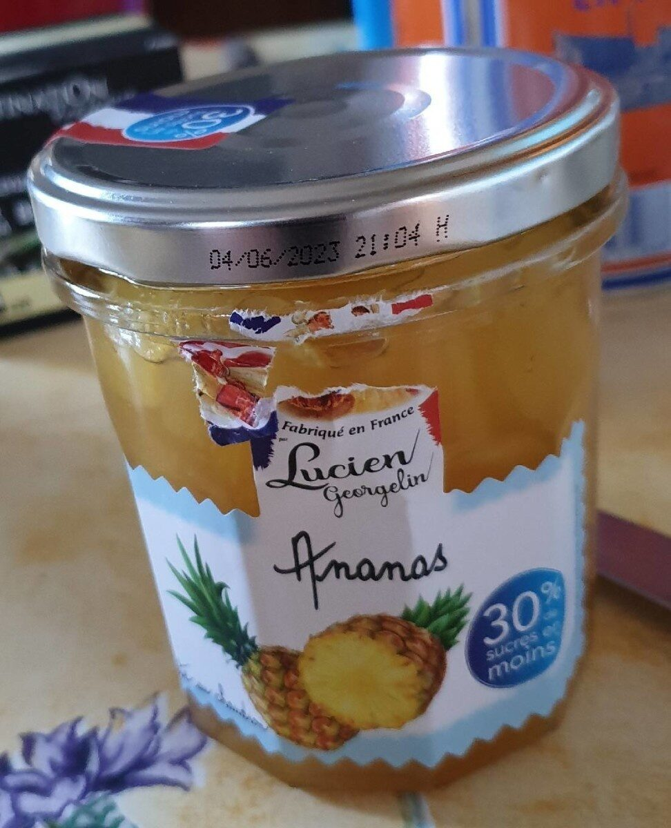 Confiture Ananas - Product - fr