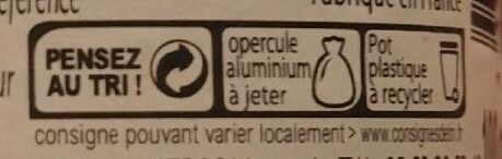 châtaigne - Recycling instructions and/or packaging information - fr