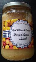 Poires de Provence Pommes à la vanille - Product - fr