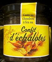 Confit d'échalotes cuites au chaudron à feu nu - Product - fr