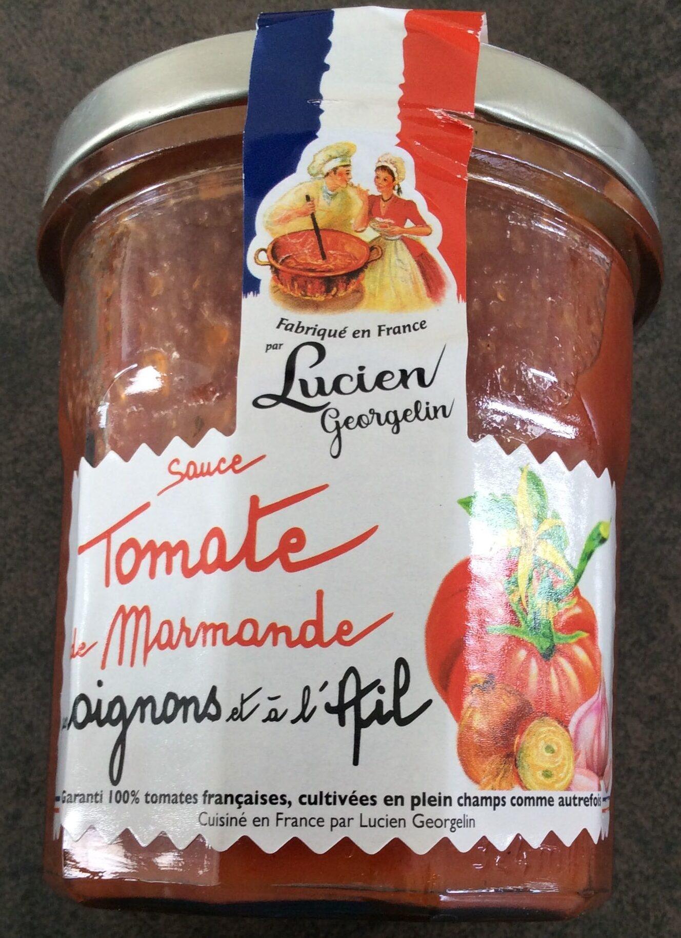 Sauce tomate de Marmande aux oignons et à l'ail - Produit - fr