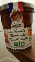 Sauce à la tomate dz Marmande au piment d'Espelette Bio - Produit - fr