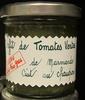 Confit de tomates vertes de marmande cuit au chaudron - Produit