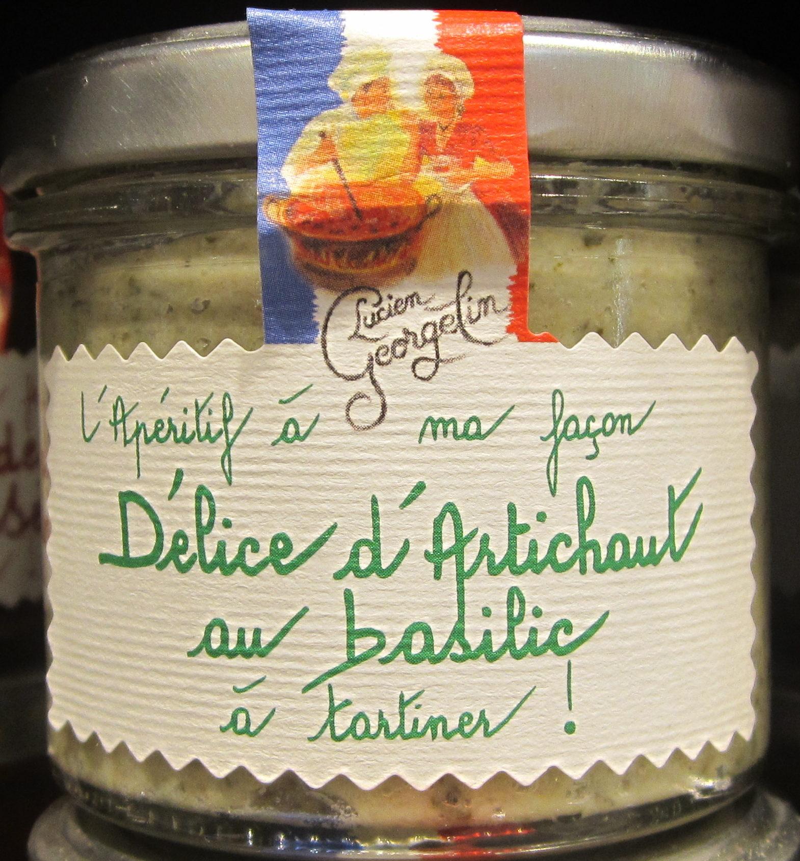 Délice d'Artichaut au Basilic à Tartiner - Produit
