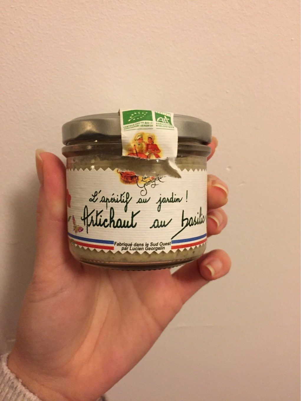 Specialite a tartiner a base d'artichauts au basilic - Product - fr