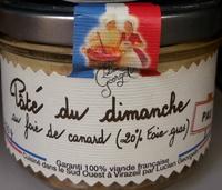 Pâté du Dimanche au Foie de Canard - Product