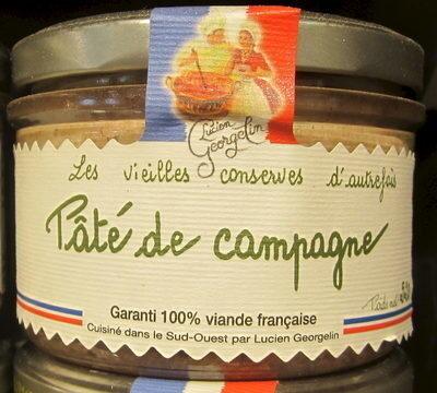 Pâté de Campagne - Prodotto - fr