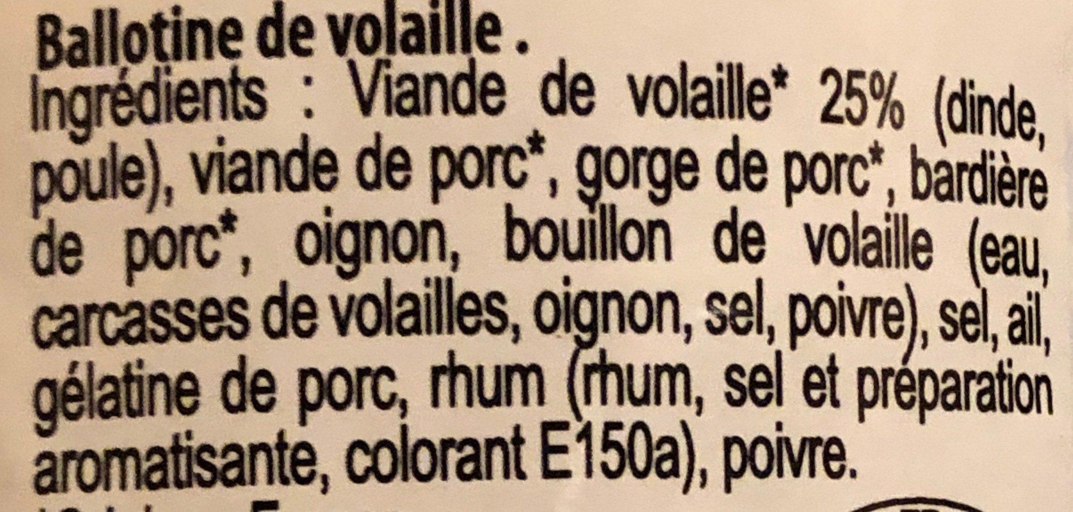 """Paté de la Fermière """"Ma mère Élyse"""" - Ingrédients - fr"""