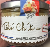 Pâté Ch'ti au maroilles - Produit - fr