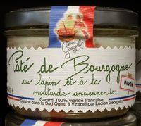 Pâté de Bourgogne au Lapin et à la Moutarde Ancienne de Dijon - Produit - fr