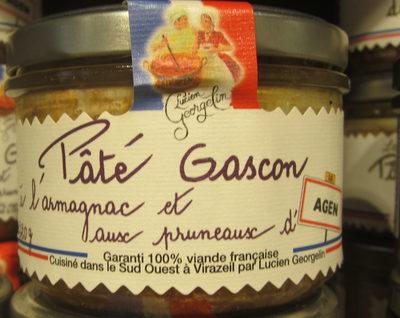 Pâté Gascon à l'Armagnac et aux Pruneaux d'Agen - Produit - fr